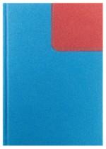 Notes Oxford niebieski/czerwony