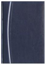Notes Parma granatowy/srebrny