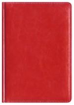 Notes Skóra Powlekana czerwony