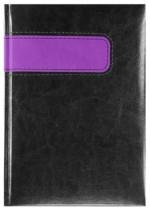 Notes Talin czarny/fioletowy
