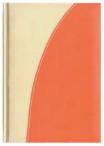 Notes Verona kość słoniowa/pomarańczowy