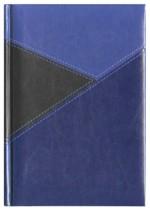 Notes York czarny/niebieski/granatowy